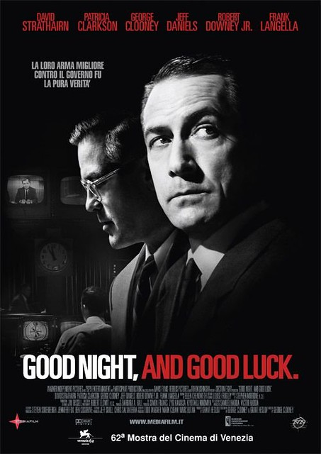 Good Night and Good Luck Movie Poster