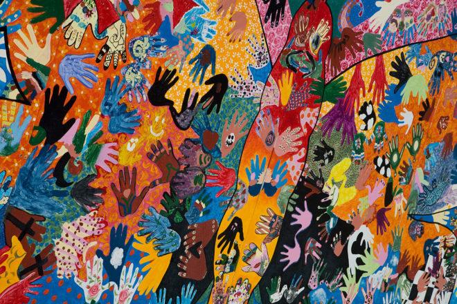 Children Made Mural